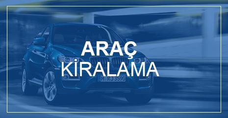 OTO KİRALAMA - RENT A CAR HİZMETLERİ