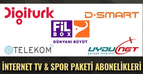 İNDİRİMLİ İNTERNET TV ve SPOR PAKETLERİ